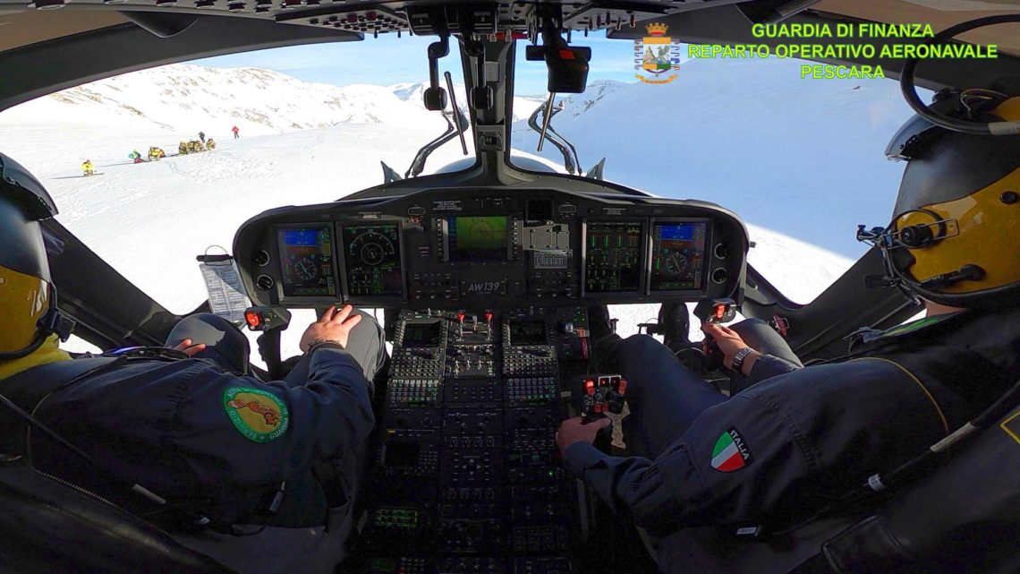 Proseguono le ricerche dei 4 escursionisti dispersi dal 24 gennaio sul Monte Velino