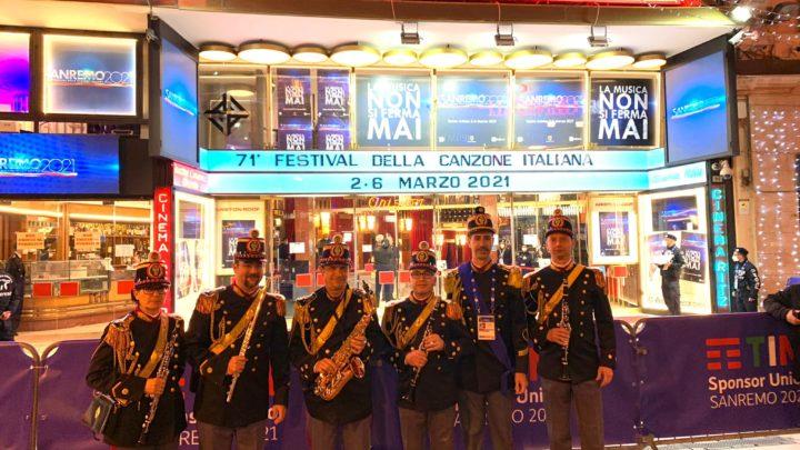 La Banda musicale della Polizia di Stato si esibirà questa sera alla giornata inaugurale del 71° Festival di Sanremo