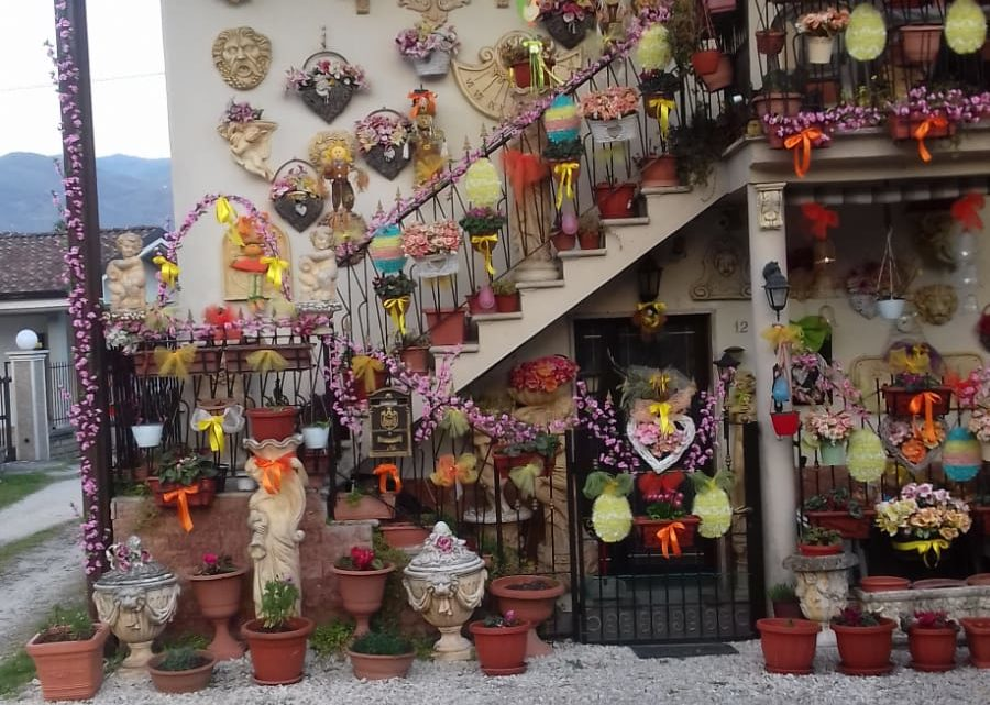 """La casa dei Pallucci a Cassino si """"veste"""" per la Pasqua"""
