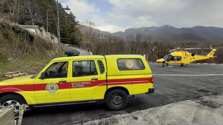 53enne scivola per centinaia di metri sul Monte Viglio, recuperato ed elitrasportato dal Soccorso Alpino di Collepardo