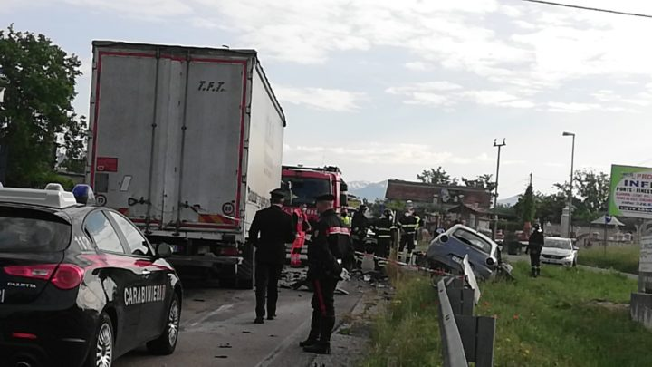 Incidente stradale sulla superstrada Cassino Formia, un morto