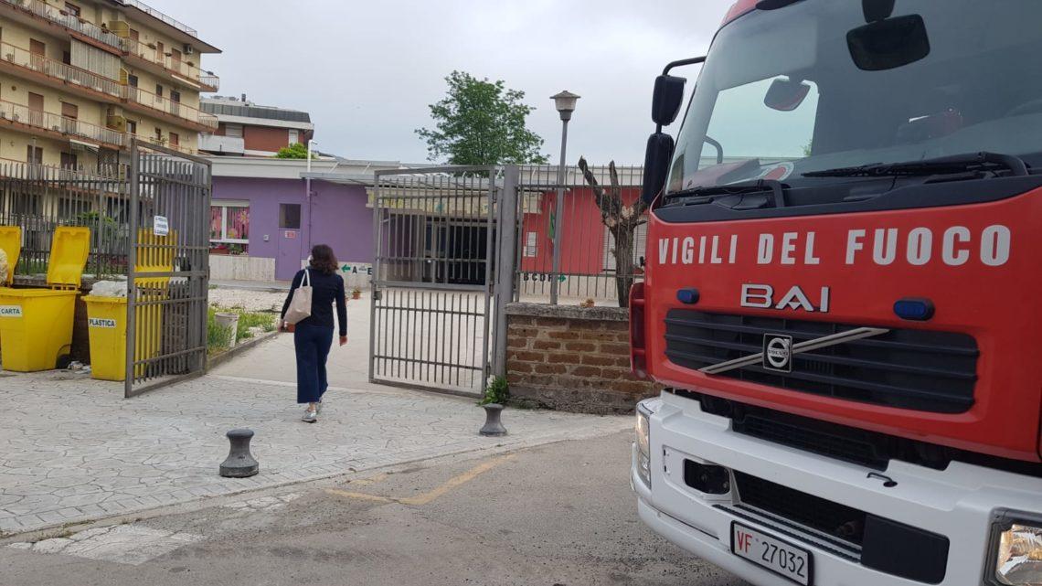 Falso allarme antincendio nella scuola dell'infanzia di via Zamosch