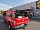 Pontecorvo – Paura al supermercato Lidl per incendio frigorifero
